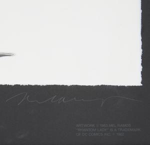 Mel Ramos (1935-2018), Screenprint,