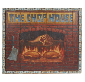 Chop House Sign