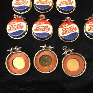 10 Pepsi-Cola, Kork-n-Seal Bottle Caps