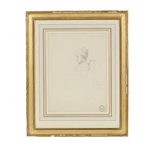 Edouard-Marie Guillaume Dubufe (1853-1909) Drawing, Portrait of Juliette