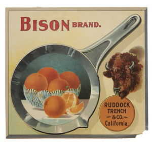 Bison Brand. / Ruddock Trench & Co. California