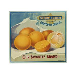 Moulton and Green / California Oranges /