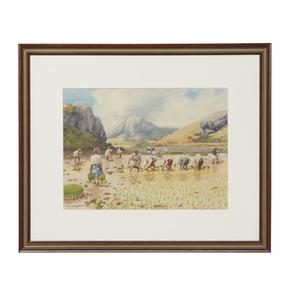 Emile Ralambo (1879-1963) Painting