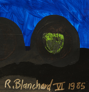 Remy Blanchard (1958-1993) Painting