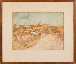 Pair of Early 20th Century Vincent van Gogh Prints