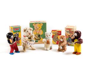 Five Assorted Bears