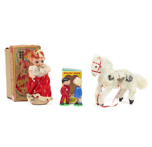 Dancing Doll, Kissing Dolls, and Running Horse