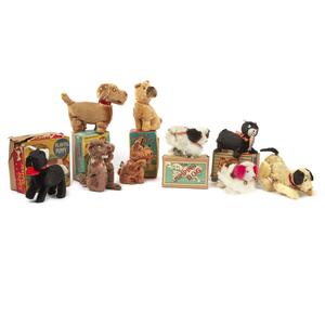Nine Assorted Dogs