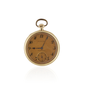 Patek Phillippe 18k Pocket Watch for Tiffany & Co