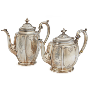 Gorham Sterling Silver Tea and Coffee Service, 56.8 ozt