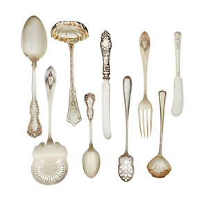 Assorted Sterling Silver Flatware, 53.69 ozt