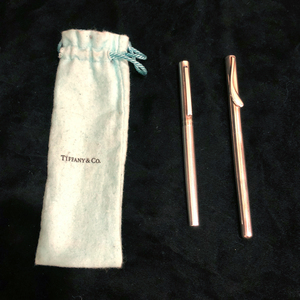 Tiffany and Co. Sterling Silver Pens (Engine Turned/Elsa Peretti)