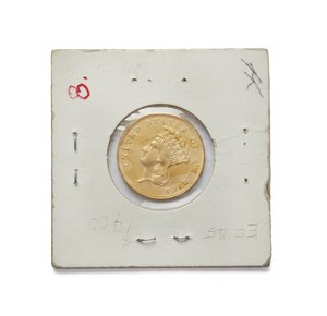 1855 $3.00 U.S. Gold Coin