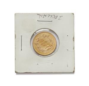 1855 $3.00 U.S. Gold Coin