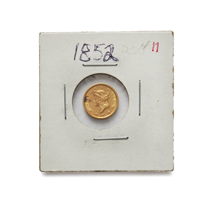 1852 One Dollar U.S. Gold Coin