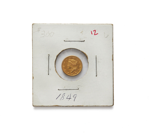 1849 One Dollar U.S. Gold Coin