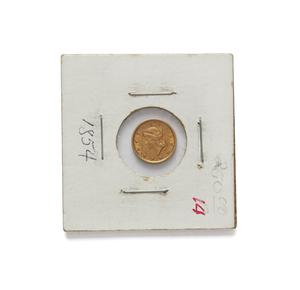 1854 One Dollar U.S. Gold Coin