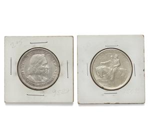 1894 Columbia Exposition Commemorative Silver Half Dollar