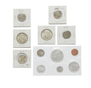 Set of 1965 Uncirculated Canada Coins