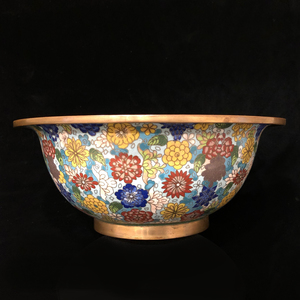 Cloisonne Millifiori Decorated Bowl