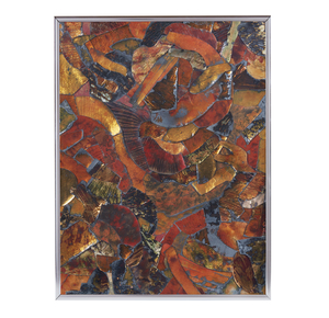 Fred Ball (1945-1985), Enamel Copper Collage,