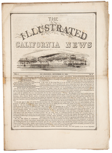 The Illustrated California News, Publ by the Alta California