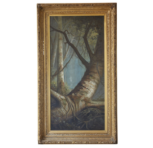Aston David Middleton Cooper (1856-1924) Painting, Fallen Tree Limb
