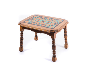 California Arts and Crafts Tile Top Table (#2)