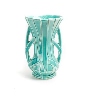 MC COY Strap-work Vase
