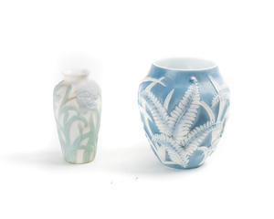 PHOENIX GLASS Vases (2)