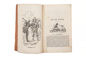 Delano, Alonzo. Pen Knife Sketches; or, Chips of the Old Block, A series of Original Illustrated Letters, Written by One of California's Pioneer Miners, and Dedicated to that Class of Her Citizens by the Author