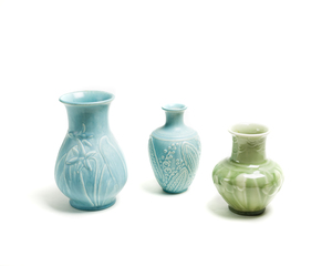 Three (3) ROOKWOOD Vases