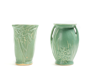 TWO (2) VASES, MC COY and