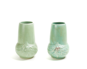 Two (2) MC COY Vases