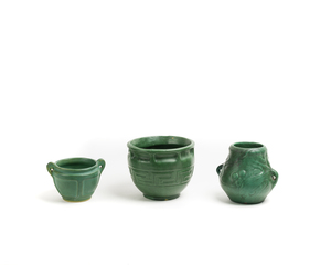 Three (3) WELLER Pots