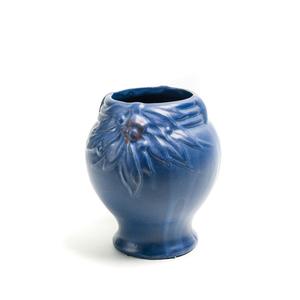 MC COY Deep Blue Baluster Vase