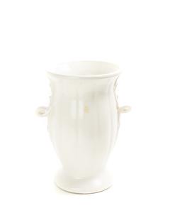 MC COY Matte White Glazed Vase