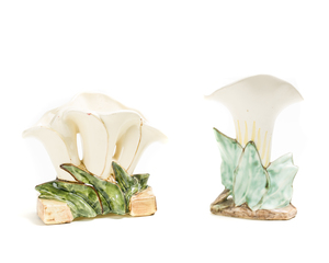 Two (2) MC COY Calla Lily Vases