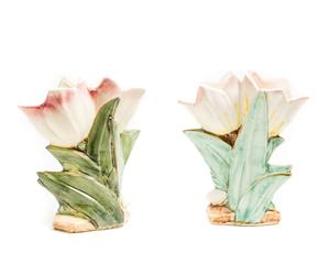Two (2) MC COY Tulip Vases