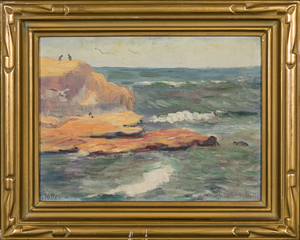 M. Witte Seascape painting