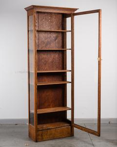 Oak Book/Display Case