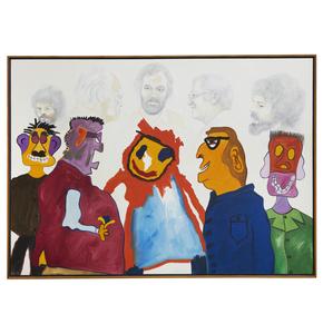 Ken Waterstreet (20th century), Painting,