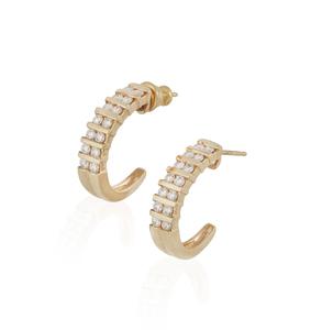 Diamond 14k Gold Earrings