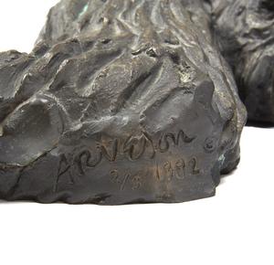 Robert Arneson (1930-1992), Bronze,