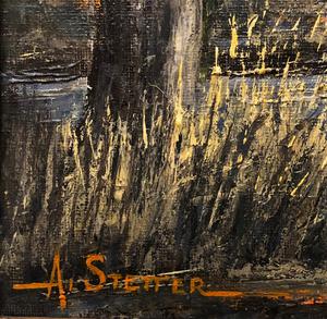 Al Stetter Painting