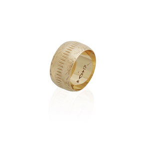 14k Yellow Gold Ring, 7.8 grams