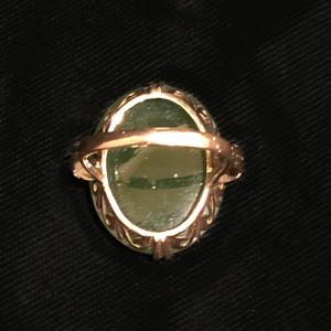Nephrite 14k Ring