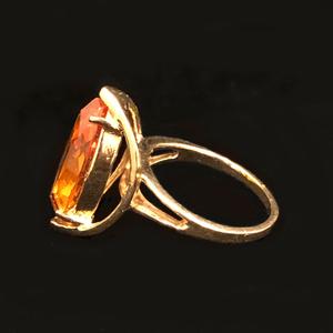 Citrine 14k Gold Ring