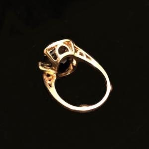 Smoky Quartz 14k Ring