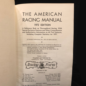 Assortment of Horse Racing and Rearing Records